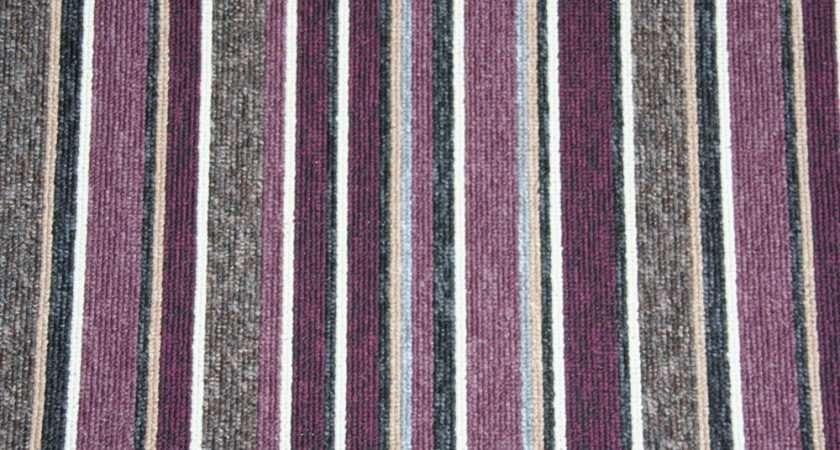 Striped Carpet Any Room Stairs Landing Ebay
