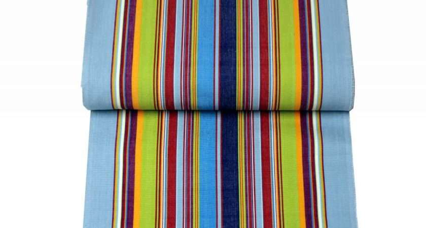 Striped Deck Chair Fabrics Flamenco Stripes Company