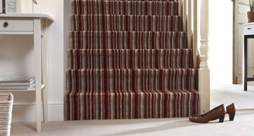 Stripes Create Illusion Space Elongating Your Stairs