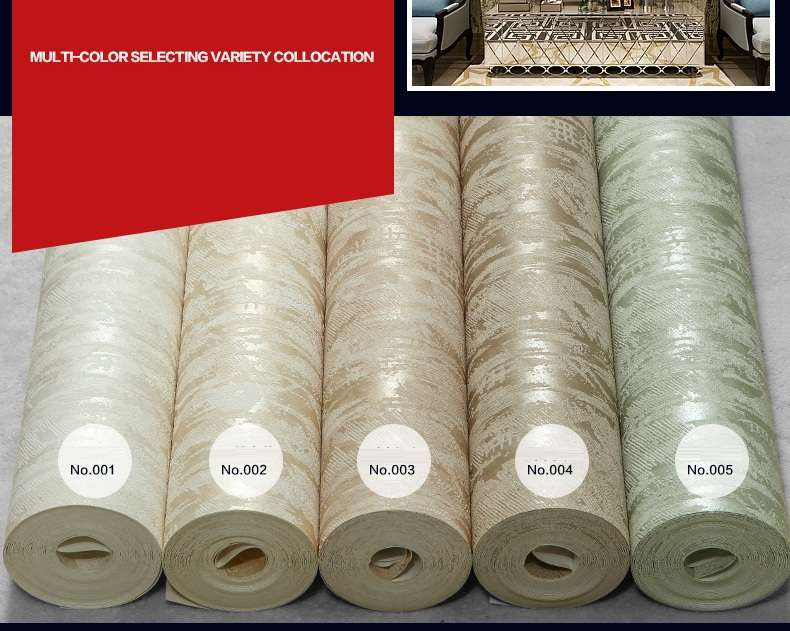Stripes Uneven Bump Pure Color Plain Brief Wall