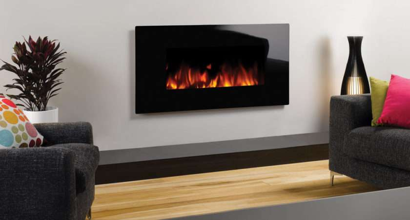 Studio Electric Glass Wall Mounted Fires Gazco