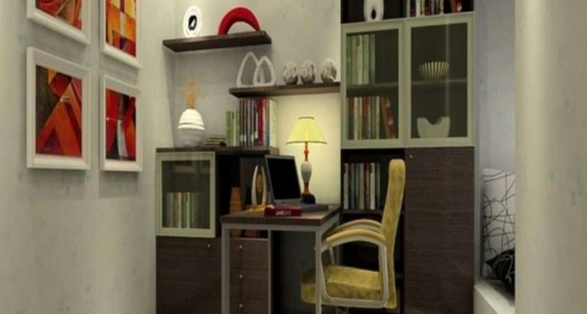 Study Room Decor Cinder Block Wall Interior Design Ideas