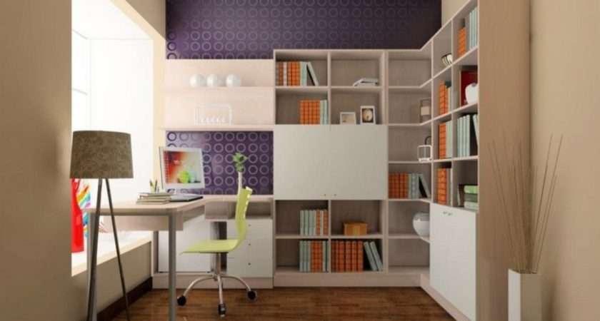 Study Room Design Purple House
