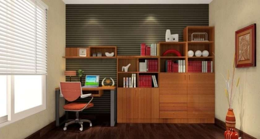 Study Room Modern Design Interior