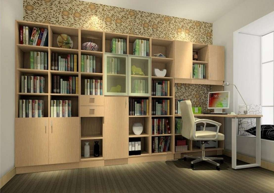 Studying Room Design Elegant Style