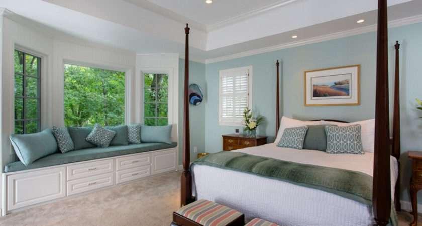 Stunning Bay Windows Seats Bedroom Home