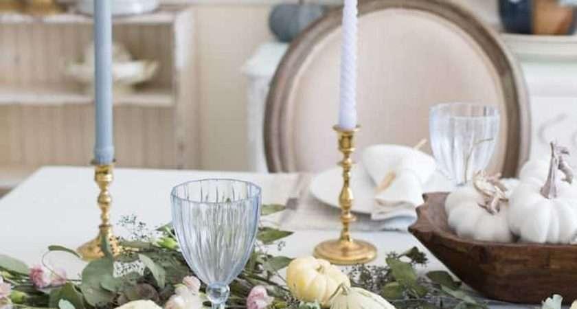 Style Elegant Table Setting Pastels