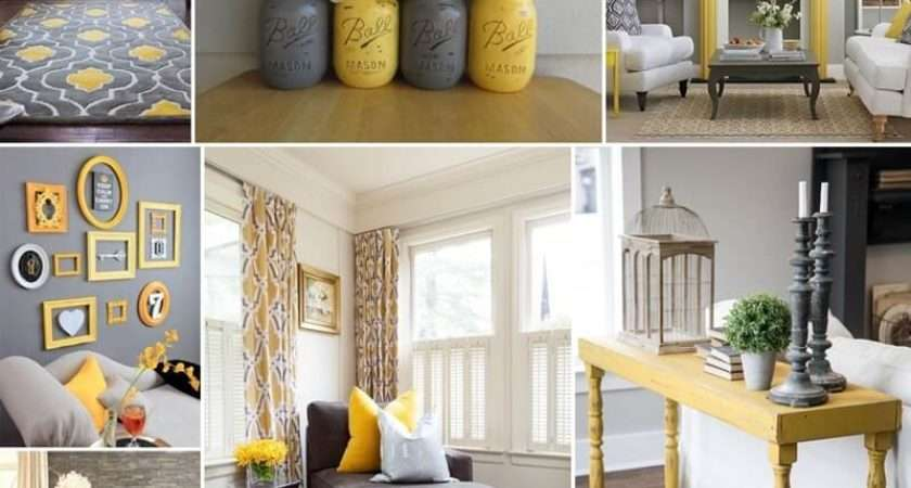 Style Your Living Room Gorgeous Gray Yellow