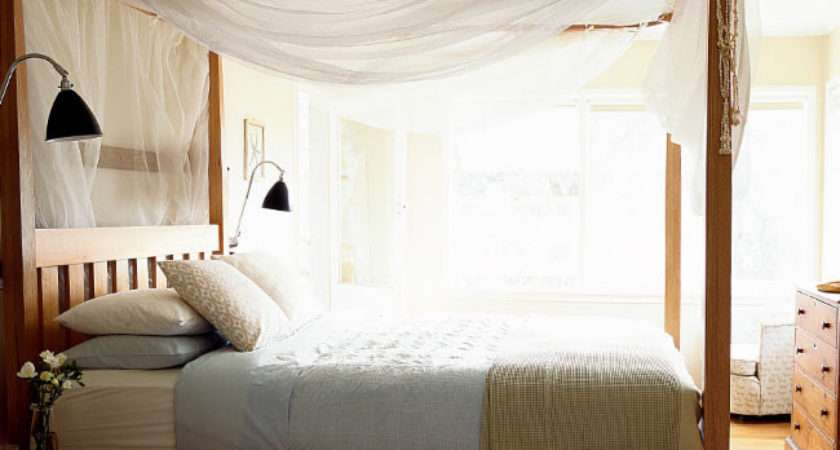 Styled Interior Design Homelife Diy Four Poster Bed