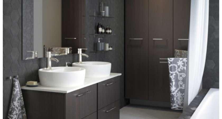 Stylish Black Gray Bathroom Designs Home