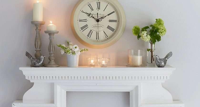 Stylish Mantel Displays Sainsbury Home