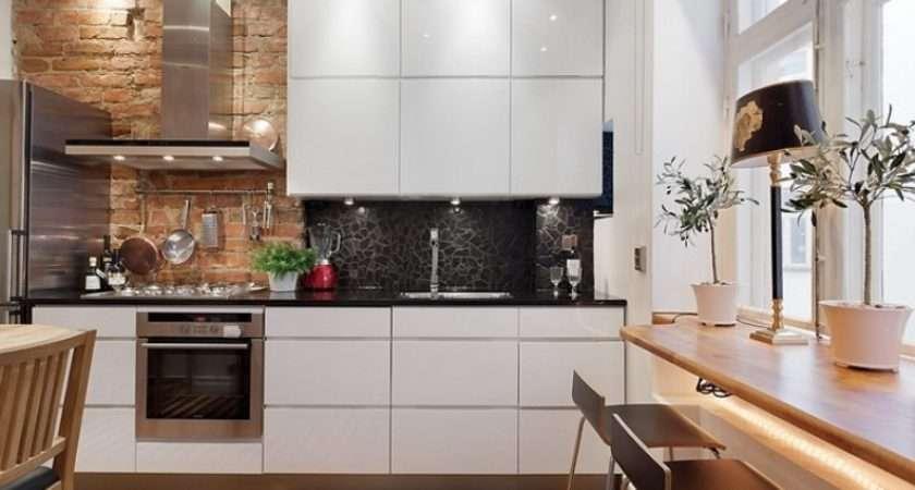 Stylish Minimalist Industrial Kitchen Design Digsdigs