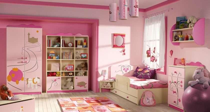 Stylish Pink Girl Bedroom Interior Design Ideas Https