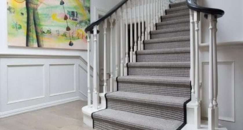 Stylish Stair Carpet Ideas Enhance Visual
