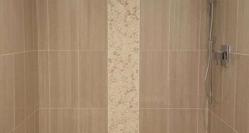 Stylish Vertical Tile Shower Design Ideas