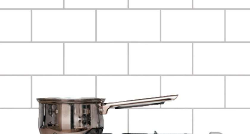 Subway Tile Kitchen Bathroom Wall Decals