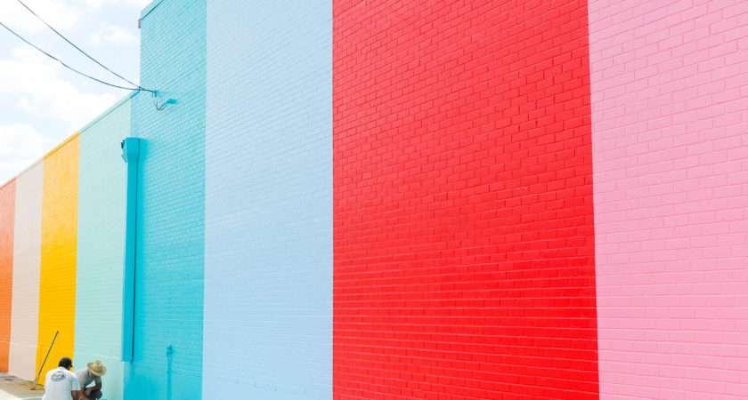 Sugar Cloth Color Wall Houston Video