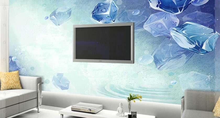 Summer Cool Sofa Mural Bedroom