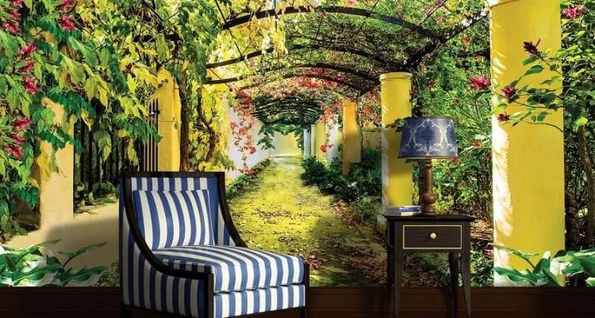 Summer Garden Murals Homewallmurals