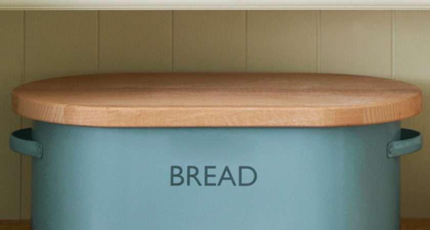 Summer House Blue Bread Bin Barmans