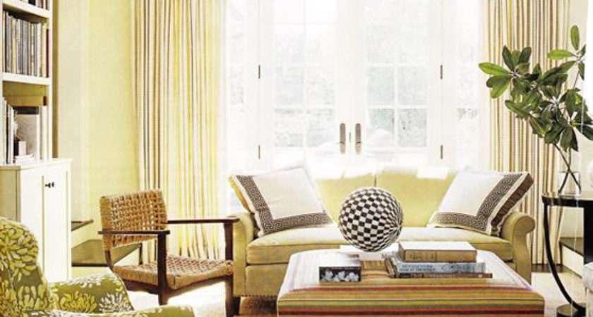 Sunny Yellow Living Room Design Ideas Interiorholic
