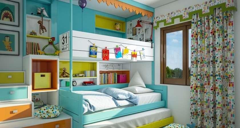 Super Colorful Bedroom Ideas Kids Teens