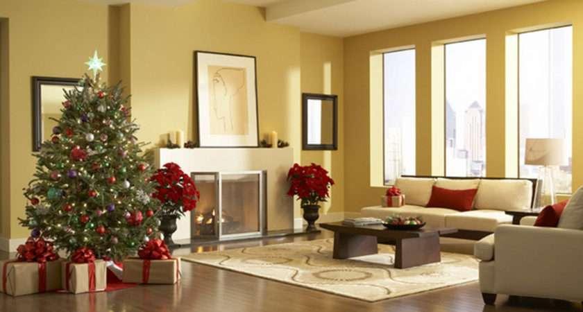 Superb Christmas Living Room Decorations Design