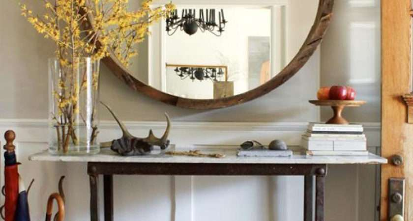 Surprisingly Awesome Hallway Mirror Ideas
