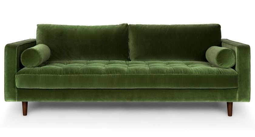 Sven Grass Green Sofa Sofas Article Modern Mid