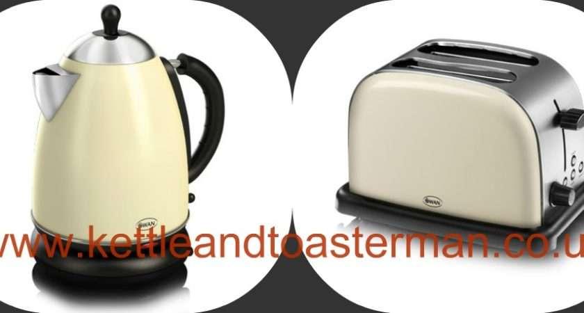 Swan Cream Jug Kettle Slice Toaster
