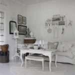 Swedish Blogger Vitt Zink Och Silver Decorated Her House Love