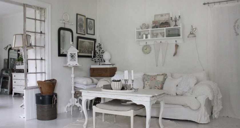 Swedish Blogger Vitt Zink Och Silver Decorated Her House Love