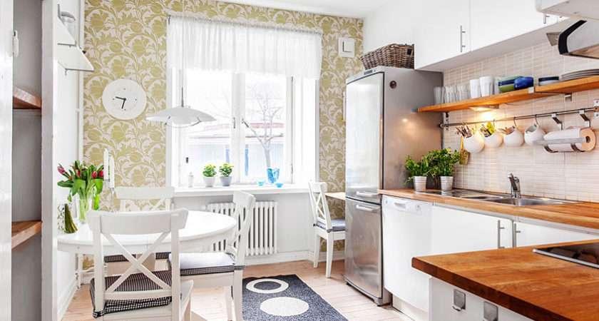 Swedish Style Interior Decorated Ikea Furniture