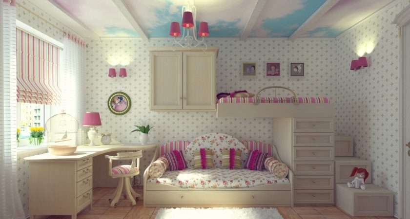 Sweeping Cloud Mural Across Ceiling Expanse Creates Dream Like