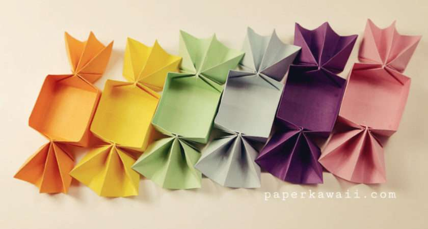 Sweet Little Origami Candy Box Model Perfect Gift Party