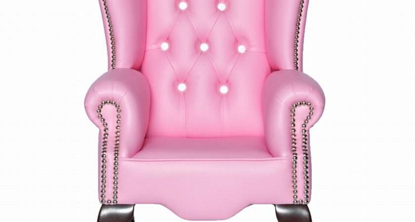 Sweet Pink Armchairs Architecture Interior Design