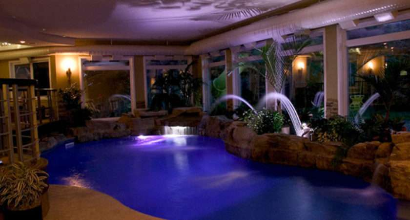 Swimming Pool Inside Your House Outdoortheme