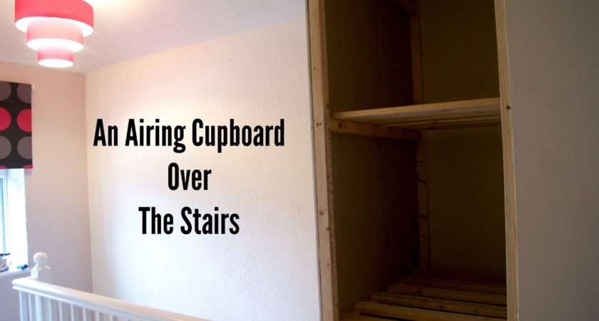 Syders Home Budget Build Airing Cupboard