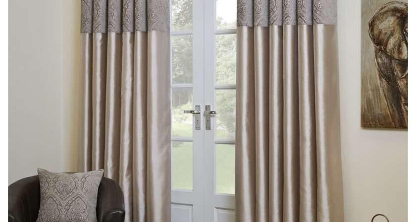 Sylvia Chenille Eyelet Curtains Classic Modern