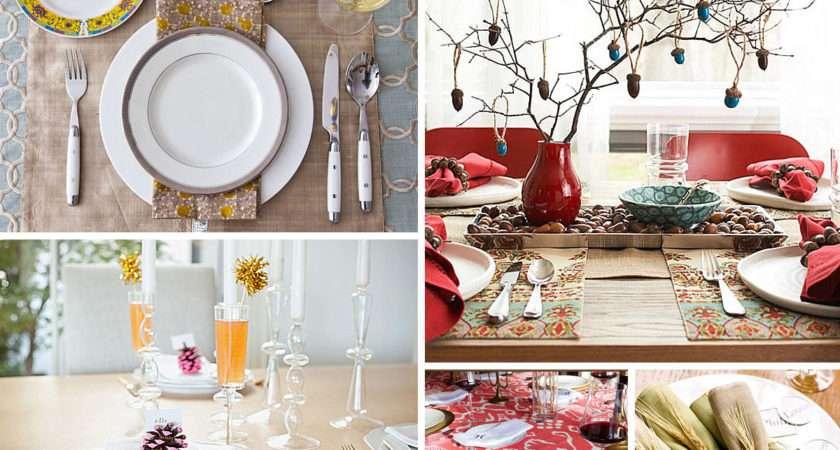 Table Settings Ideas