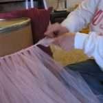 Table Skirt Little Miss Baby Girl Tidbit Times