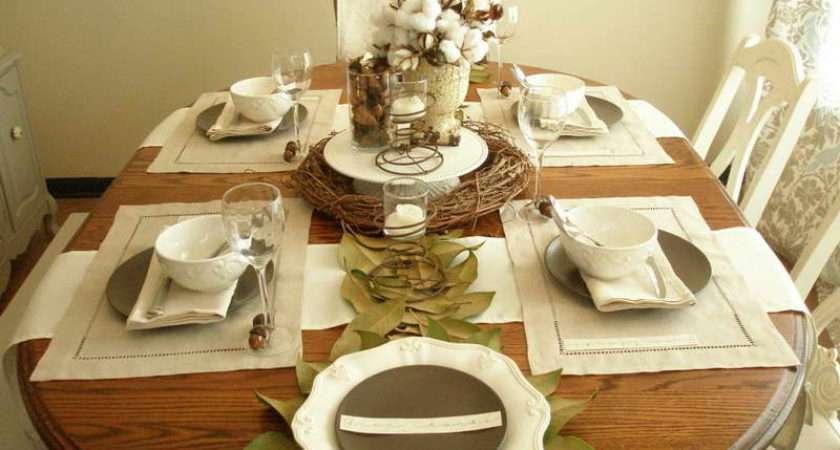 Table Wedding Settings Ideas Elegant Setting
