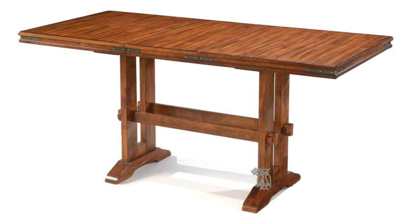 Tables Extension Leaf Mango High Dining Table