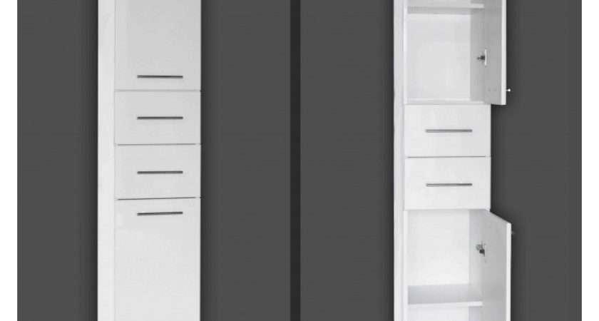 Tall Bathroom Storage Cabinet Style