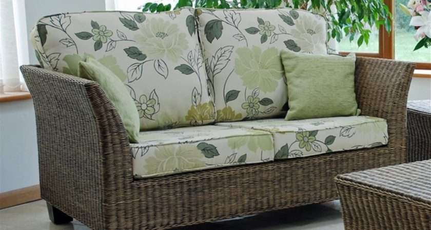 Tampa Cane Conservatory Furniture Set Internet Gardener