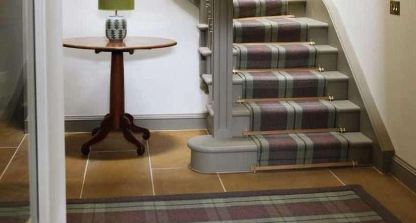 Tartan Carpets Scottish Interiors Stairs Decor