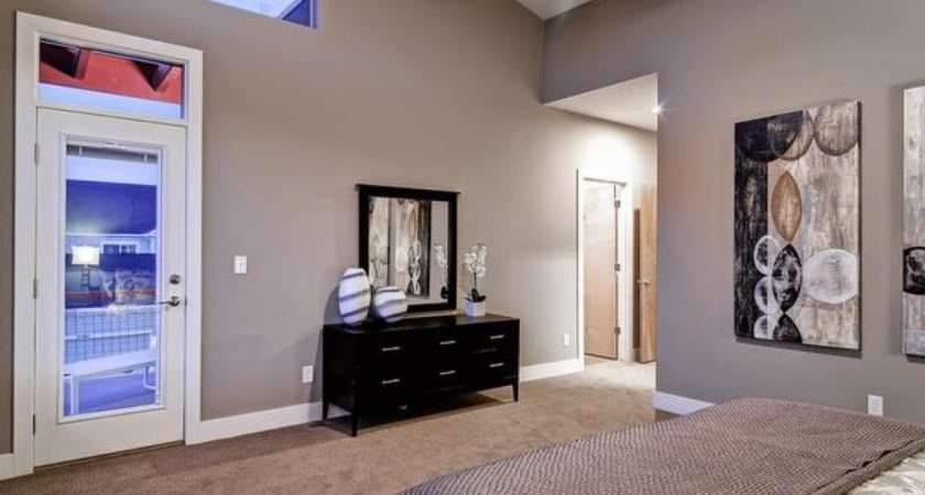 Taupe Bedroom Color Wall