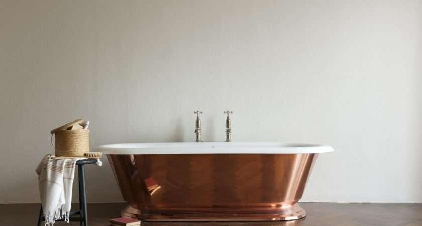 Tay Copper Cast Iron Freestanding Bath