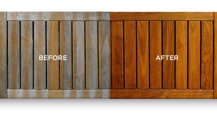 Teak Outdoor Furniture Care Includes Cleaning Treating Oiling All