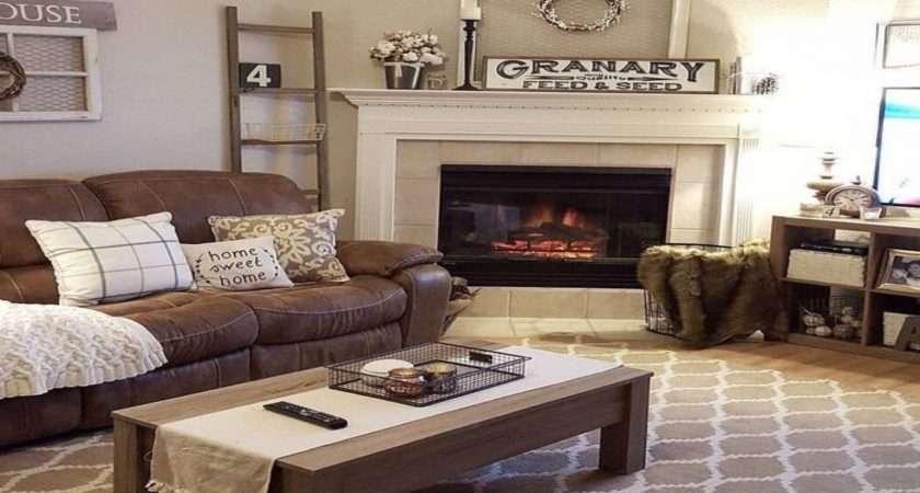 Teal Brown Decor Lounge Ideas